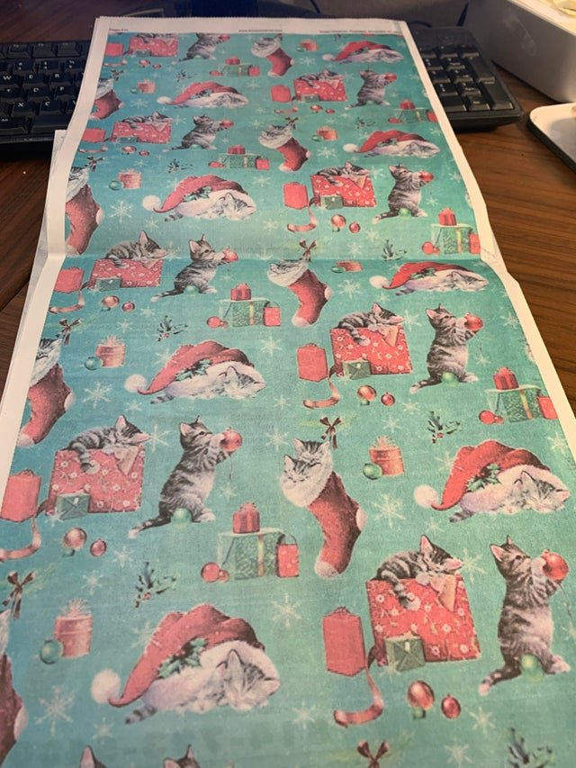 Small-Town Newspaper Prints Full-Page Pattern, to Ensure It s Upcycled as Wrapping Paper