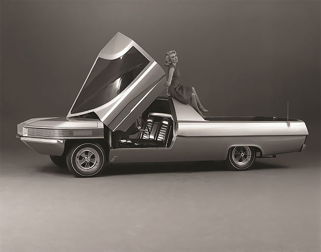 This 1966 Syd Mead Design For Ford Looks Like A Proto