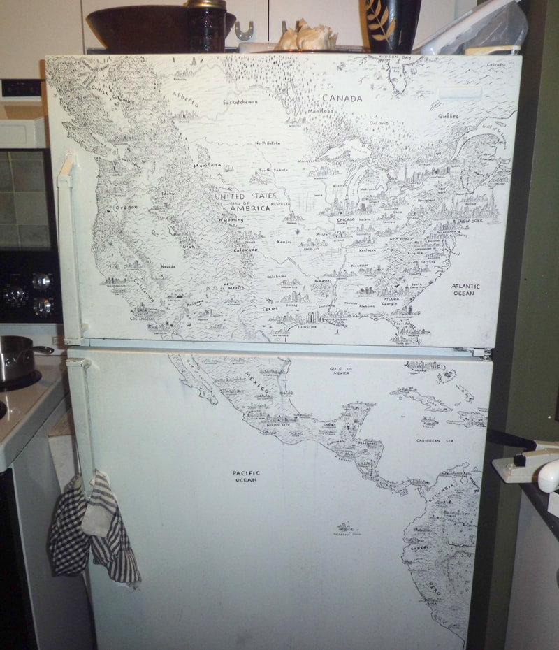 It Took Almost Five Years to Draw This Incredibly Detailed, Freehand Map of North America
