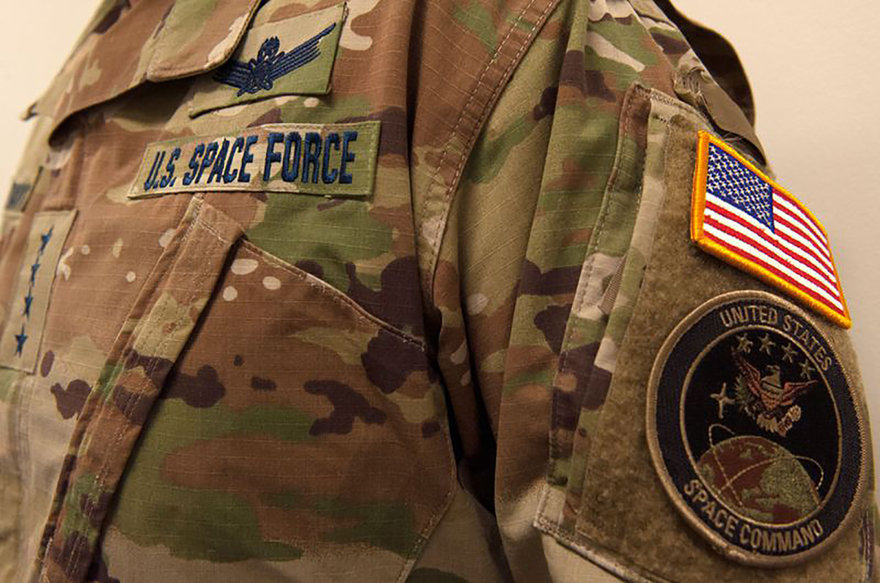 U.S. Space Force Debuts Forest Camouflage Uniforms, Drawing Ridicule