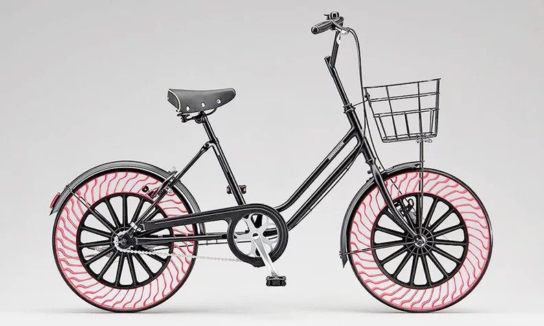 Bicycles with Airless Tires to Debut at Tokyo Olympics