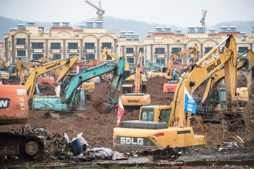 An Update on China s  Six-Day Hospital Build  to Tackle Coronavirus in Wuhan