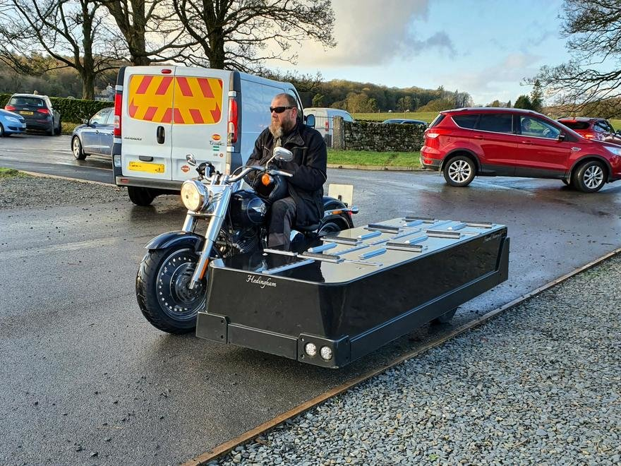 Who Knew? Motorcycle Hearses are a Thing