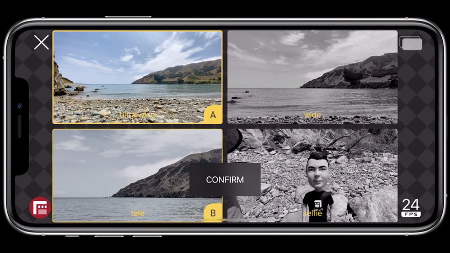 This App Allows You to Use Two Cameras on a Single iPhone At the Same Time