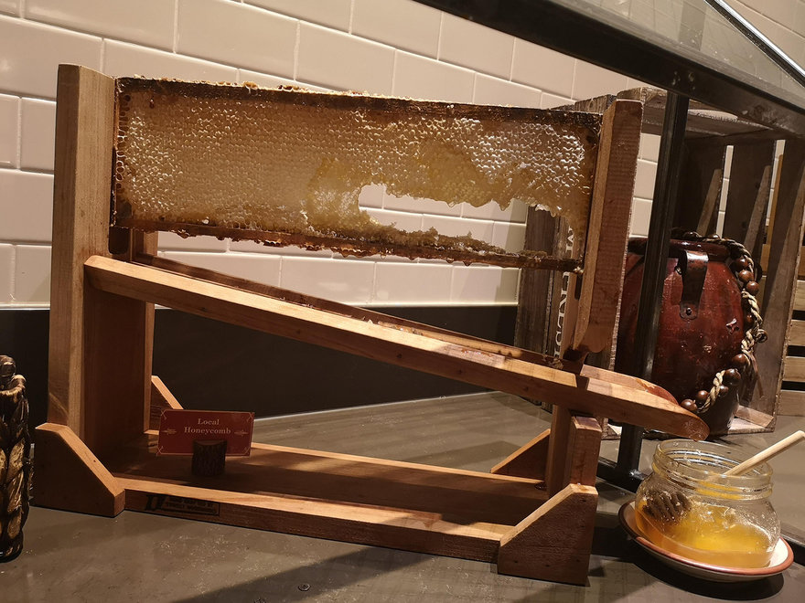 Notable Luxury Hotel Feature: In-House Honeybee Production for the Breakfast Buffet