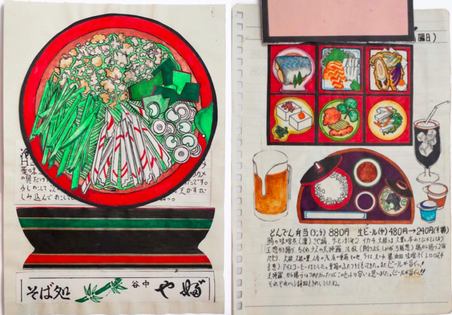 Japanese Cook Draws Every Meal He Eats, Now Has 32 Years  Worth