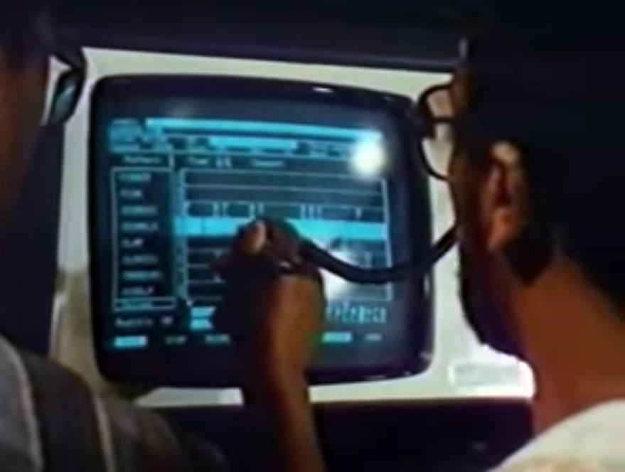 Here s Herbie Hancock Demonstrating a Primitive Music Computer to Quincy Jones in 1984