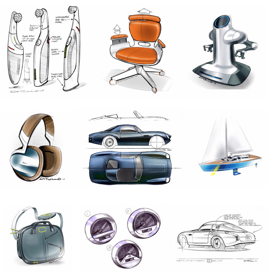 Industrial Designer Michael DiTullo s Thoughts on Sketching