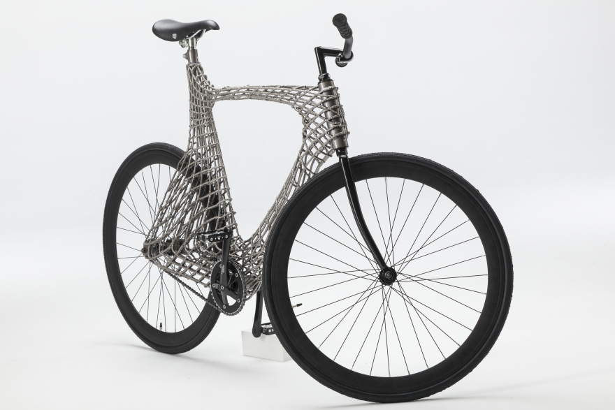 Robots 3D Print a Stainless Steel Bicycle Designed by Students from ...