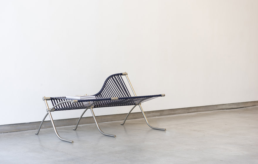Reader Submitted: A Bench Inspired By Architectural Handrail Connections