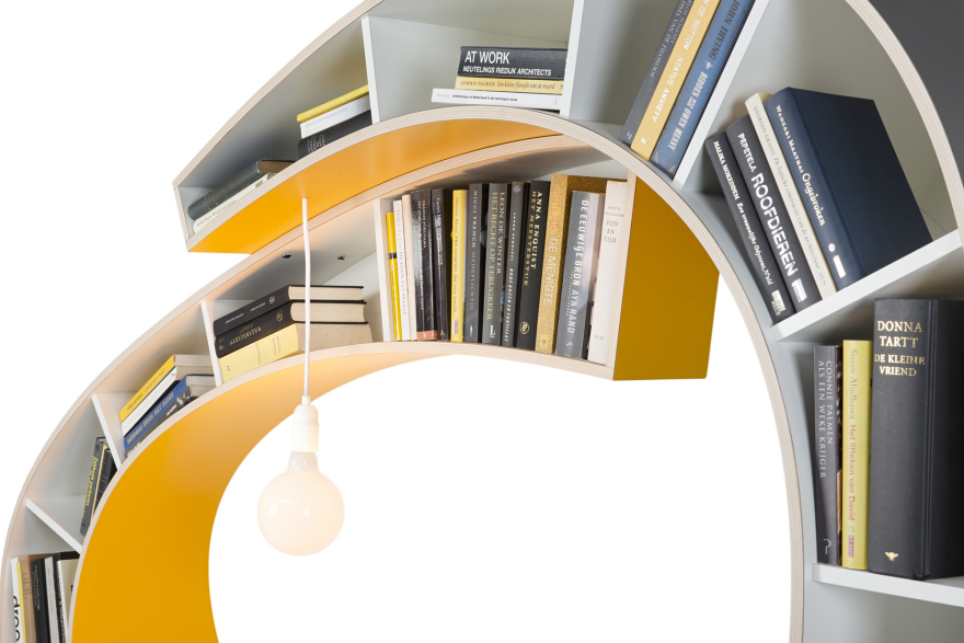 The Idea Of Creating A Co For Avid Readers Lower Half Curve Creates An Ergonomic Reading Chair From Top Bookshelf Single