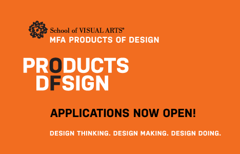 MFA Products of Design Application Date Approaching - Core77