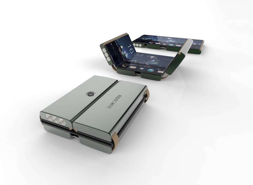 The DRAS Phone: a Truly Foldable Smartphone - Core77