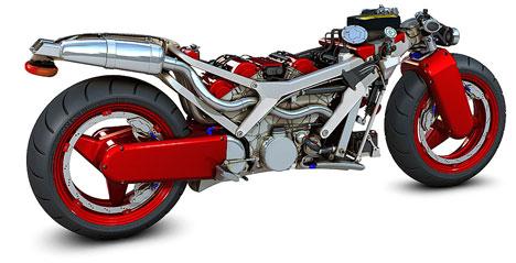 Ferrari motorcycle concept - Core77