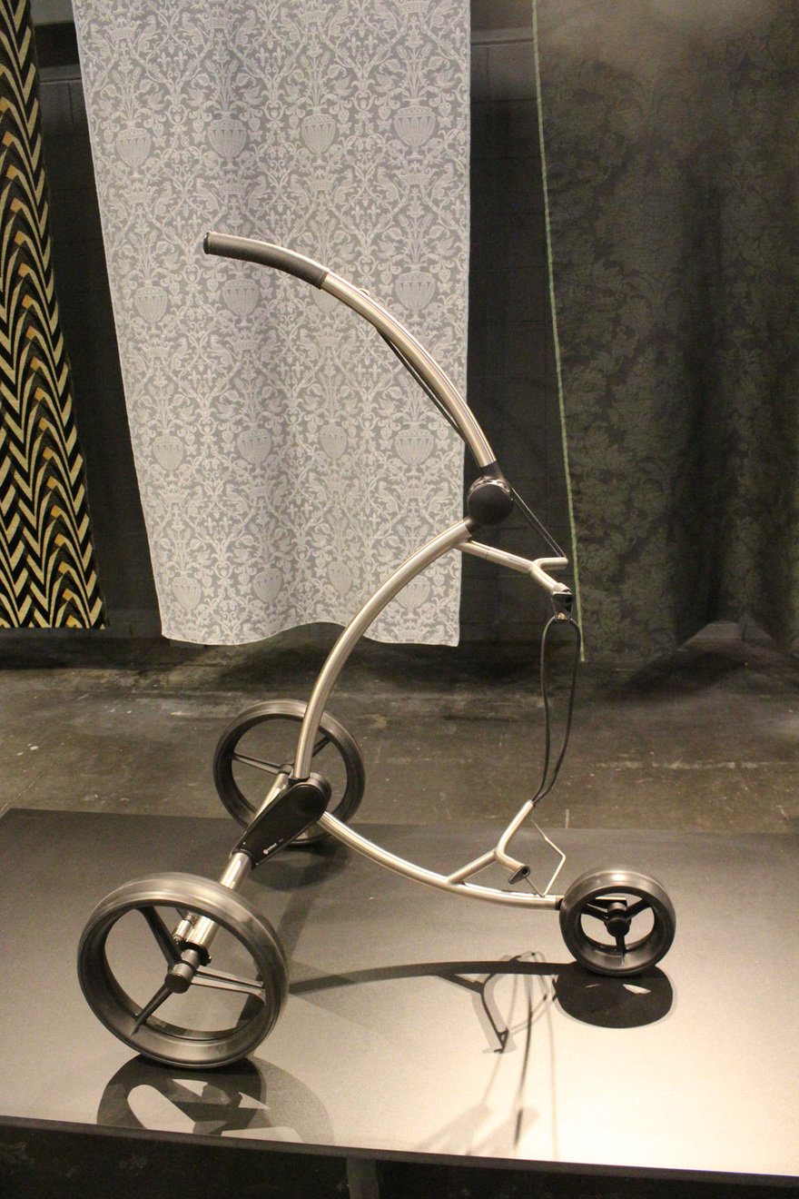 Nyc X Design Icff 2018 Core77 Hand Some Boy Scooter Wire Diagram Golfquant Handmade In Germany This Slim Mobile Vehicle Strongly Resembles Type Of But It Is Actually A Golf Caddy