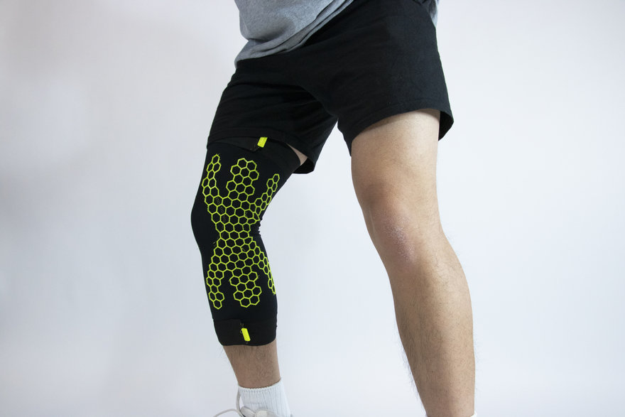 Reader Submitted: This Partially 3D Printed Leg Sleeve Ensures Safe (And Less Painful) Landings for Athletes