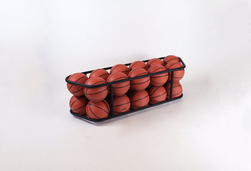 Reader Submitted: A Bench Made from... Inflated Basketballs?