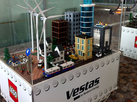 Vestas' Lego Installations in the Shanghai Airport - Core77