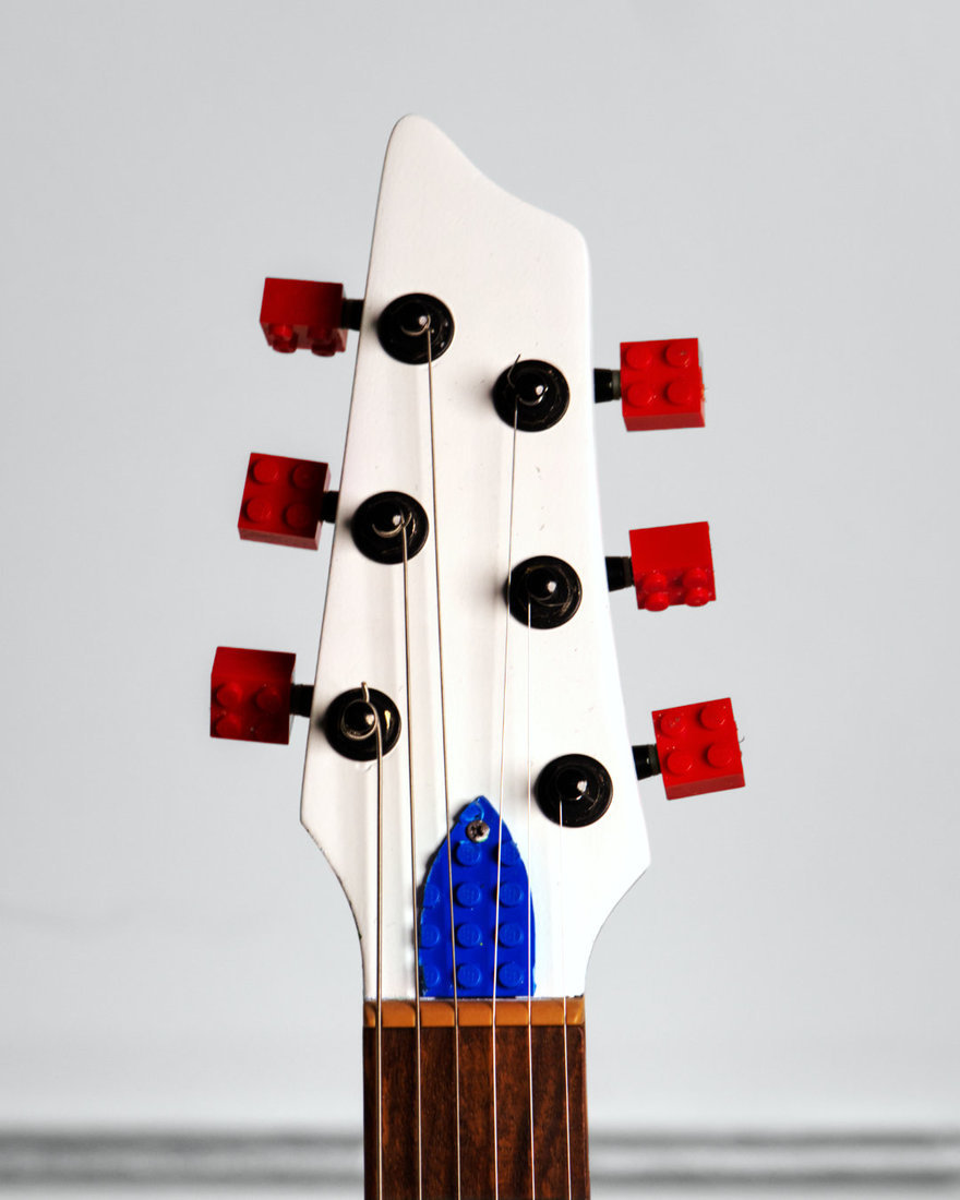 Reader Submitted: Guitar made from LEGO - aka the  LEGOcaster