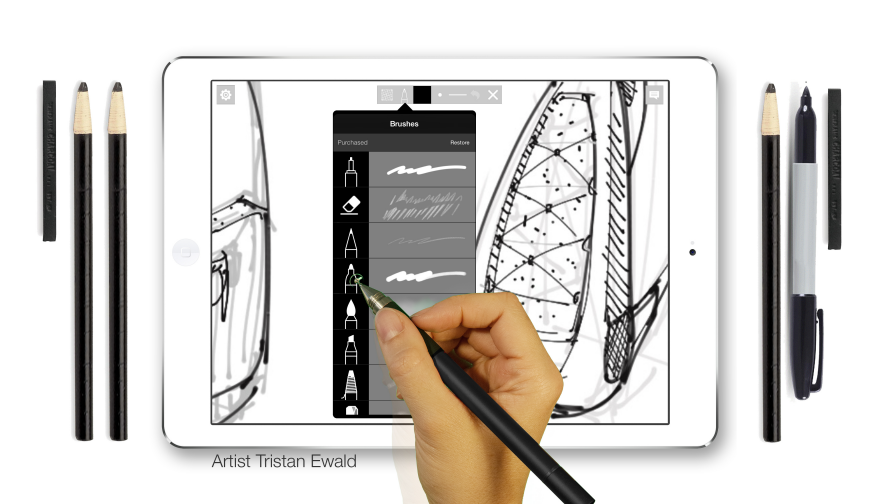 The Sketchbook Disrupted: 5 Super Tools for Creatives - Core77