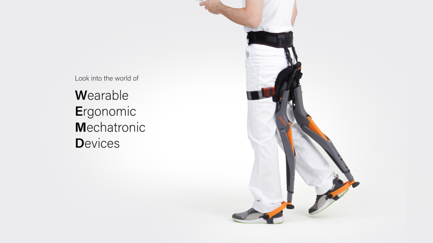 A Wearable Chair Designed To Improve Working Conditions