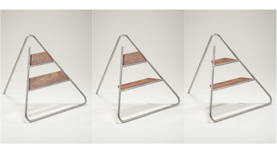 Triangle Step Ladder An Aesthetically Pleasing Step Stool