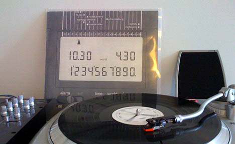 German techno record made entirely of Braun appliance