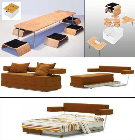 More Transforming Furniture Core77