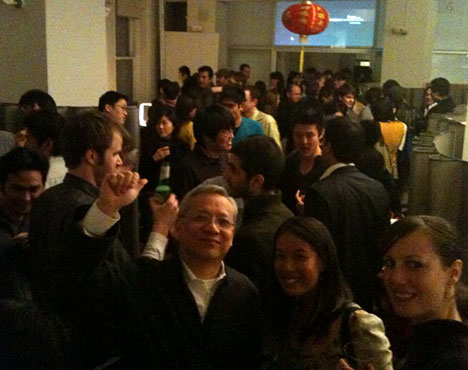 Snapshot of last night's party at ECCO Design - Core77