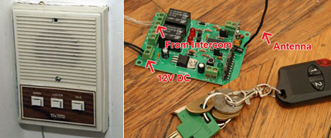 Wireless key hack for apartment dwellers - Core77
