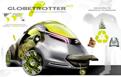 design concept car student