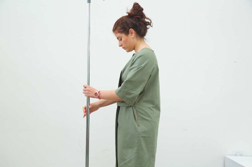 A Practical, High Fashion Update to the Traditional Hospital Gown ...