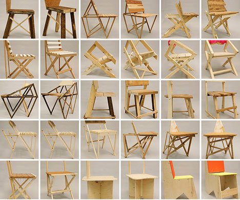 Ordinaire HallMfg: 24 Chairs In 24 Hours