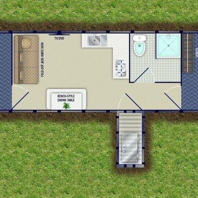 Floorplans of Entry-Level Underground Shelters - Core77