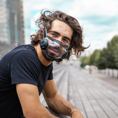 Glass Face Masks With Better-Than-N95 Filtration! - Core77