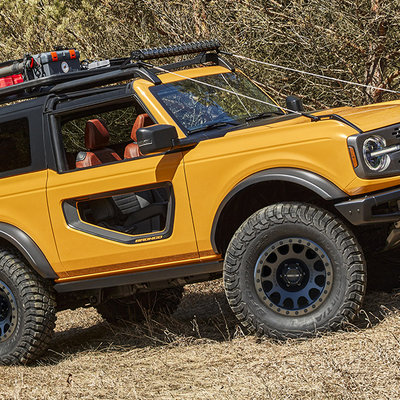 Ford's Design Team Knocks It Out of the Park with the New Bronco - Core77