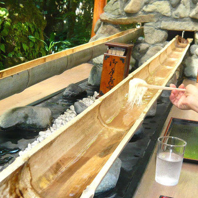 Nagashi-Somen: Japan's Bizarre Summertime Ritual of Eating Noodles Out of a Flowing Bamboo Track - Core77