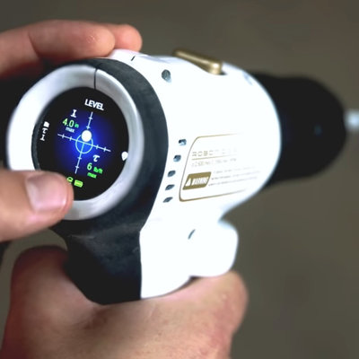 A Gimmicky Drill With a Killer Feature: The Ability to Indicate Level or Plumb - Core77
