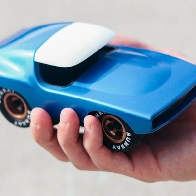 Industrial Designer Perfectly Translates the Design Cues of Classic Cars Into Toys - Core77