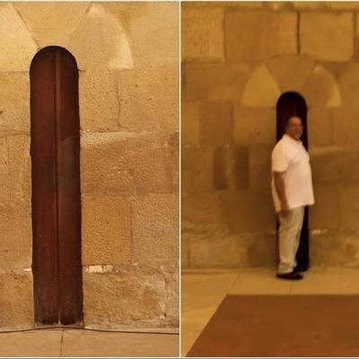 """""""Anti-Gluttony Door"""" Sized to Prevent Monks From Eating Too Much - Core77"""