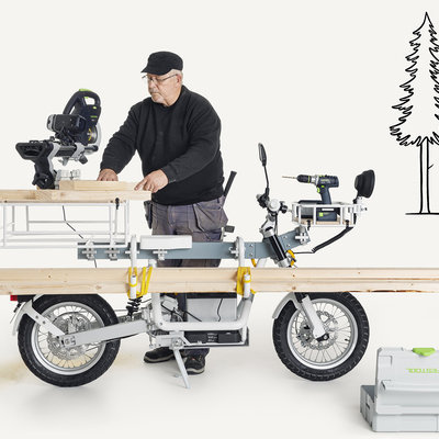 The Cake Ösa: A Workbench-Inspired Utility E-Bike - Core77