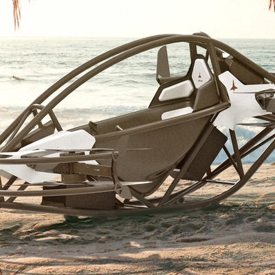 Jetson's Beautiful Form-Follows-Function Personal Flying Vehicle