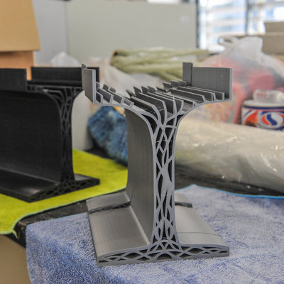 A Lightweight, 3D-Printed Alternative to Reinforced Concrete Beams - Core77