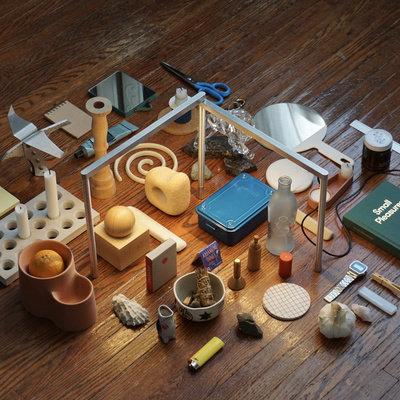 Industrial Designer Keillor MacLeod's Simple, Elegant Show Lamp - Core77