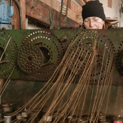 How They (Used to) Make Rope  - Core77