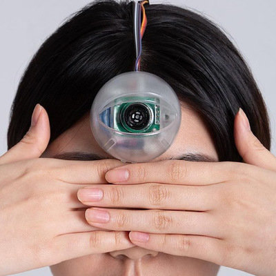 """Industrial/UX Designer Creates Wearable """"Third Eye"""" for Smartphone Zombies  - Core77"""