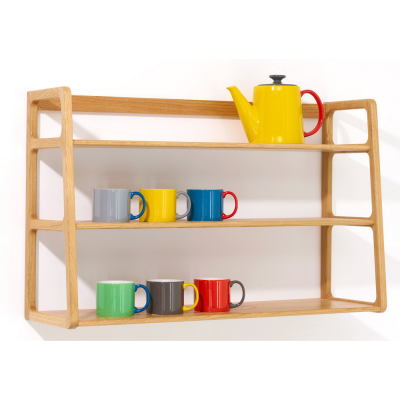 11 Designs for Organizing with Shelves