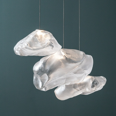 Blowing Glass Into High-Performance Pillowcases, or How Bocci Created Its Cloudlike Pendant Lights