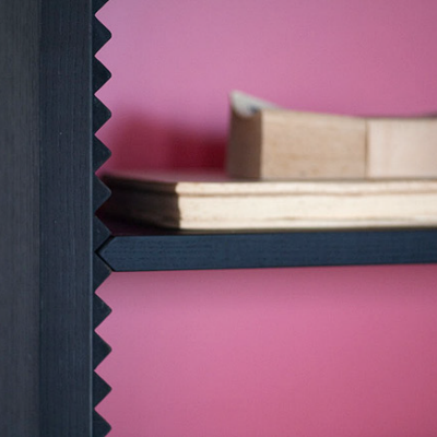 Steffen Kehrle's Toothy Adjustable Shelves