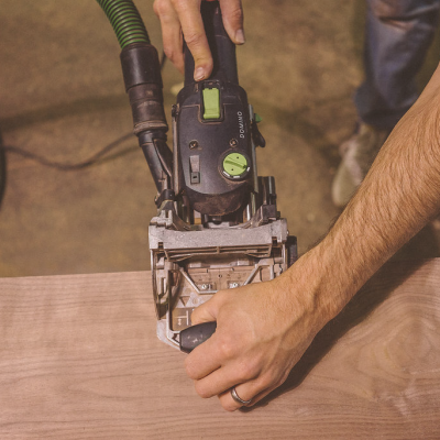 Tools That Change the Way We Design & Build: Jory Brigham on the Festool Domino's In-Shop Impact